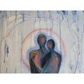 Картина Акрил и Масло ~ Двама - # К-00010
