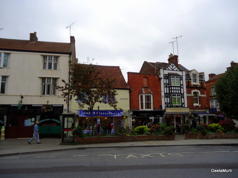 Пътуване в Англия, Гластънбъри, Glastonbury, England
