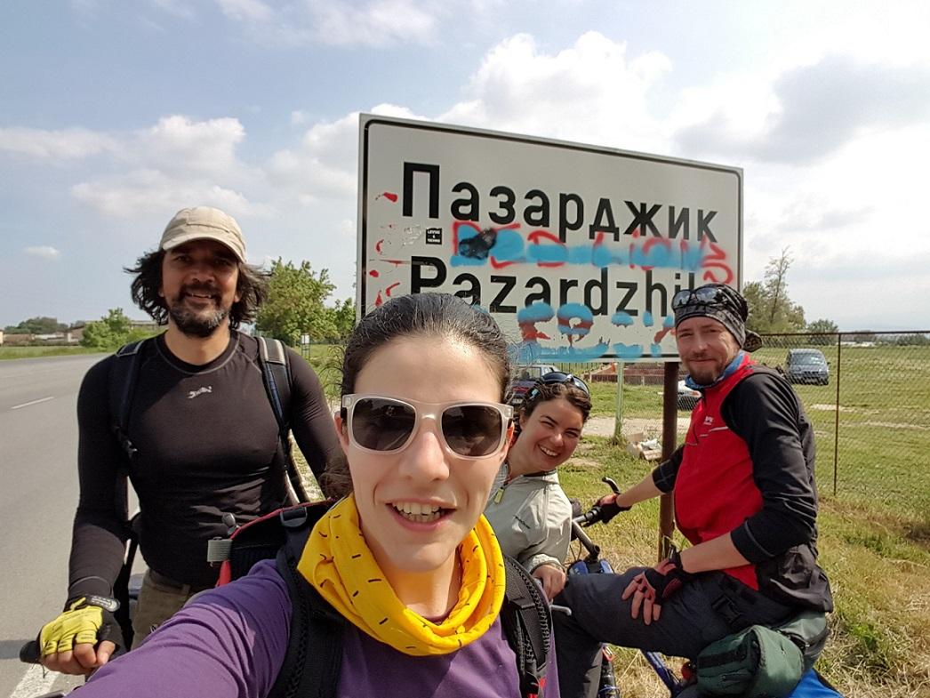 Велопоход Роман-Етрополе-Панагюрище-Пазарджик, Пазарджик