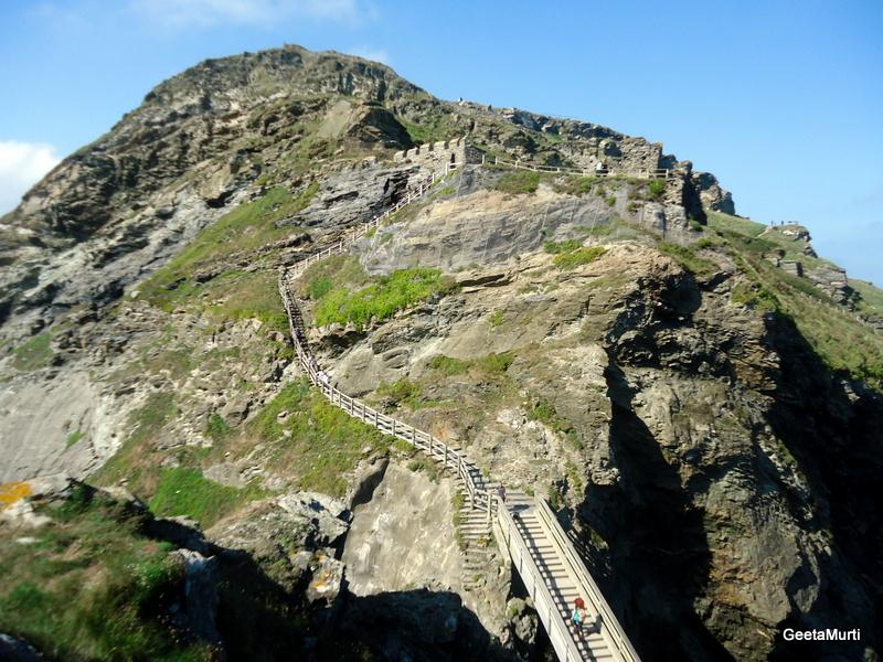 Пътешествие в Англия, Тинтаджел - родното място на крал Артур, Tintagel, England